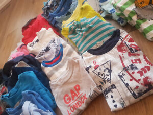 2T boys gently used assortment of clothes
