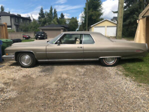 WOW  1973 Cadillac Coupe Deville