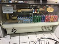 Commercial food and drinks chiller