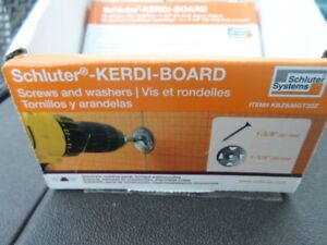 "Kerdi Board Hardware Set w/ 1-5/8"" Screws & 1-1/4"" Washers"