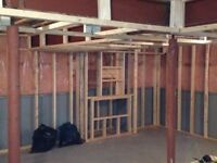 $3000 for most framed basements including materials