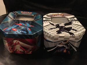 Pokemon Tins w/ Cards