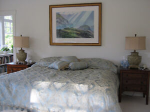 Complete King-size bed coverings