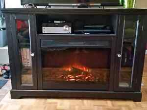 Electric Fireplace /Entertainment TV stand