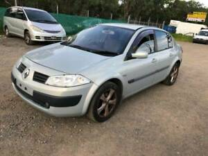 WRECKING 2004 RENAULT MEGANE FOR PARTS Willawong Brisbane South West Preview