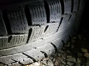 2x 245 75 r16 tires on rims