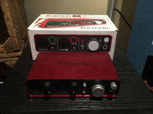 Focusrite Scarlett 2i2 Recording Interface