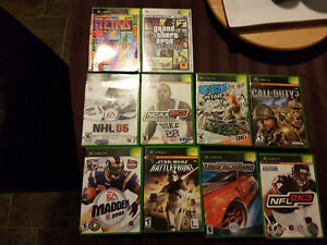 Video games - Xbox 360, Game Cube and PlayStatio 2.