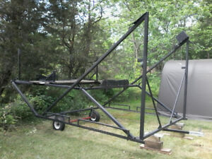 Metal boat lift