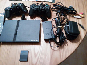 console play station 2
