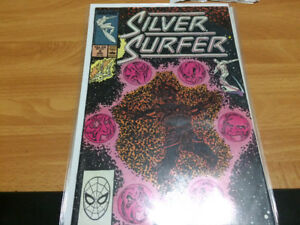 12 Silver Surfer comics Thanos tie in