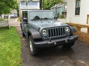 2014 Jeep Wrangler SUV, Crossover, Only 17,000 KM's