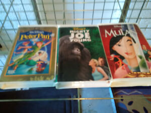 vhs walt disney movies