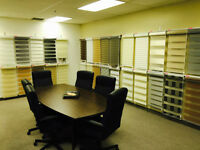 WINDOW COVERINGS - BLINDS - SHADES - COUVRE FENËTRES - STORES