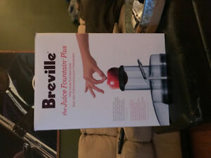 Juicer Breville (Juice Fountain Plus)