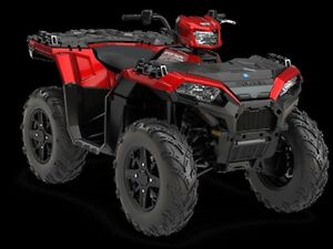 2018 Polaris SPORTSMAN 850 SP SUNSET RED / 29$/sem