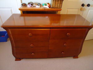 Children's dresser and matching side table