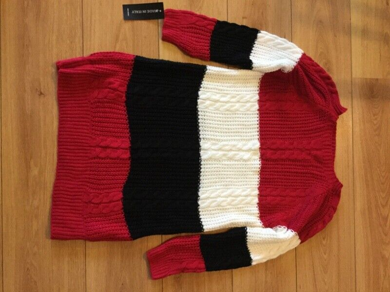 Long Jumper Made in Italy, brand new with tags size M