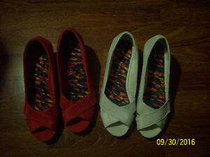 TW0 (2)  Pair of  Ladies  Shoes -LIKE NEW- $3.00 a Pair.