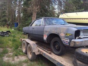 1967 dodge dart gt  project car