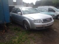 Audi a4 est 2003 1.9tdi spare or repair £350