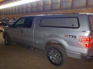 2011 Ford F150 with Tool Box Canopy