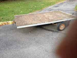 Flat bed trailer Peterborough Peterborough Area image 1