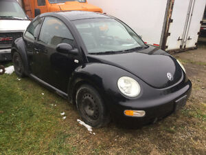 2001 Volkswagen Beetle Parts car