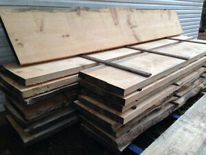 2 1/2 inch pine planks