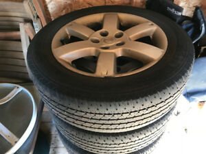 Nissan X-Trail Tires and Wheels
