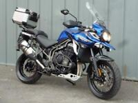TRIUMPH TIGER EXPLORER XCA ADVENTURE TOURING COMMUTING MOTORCYCLE