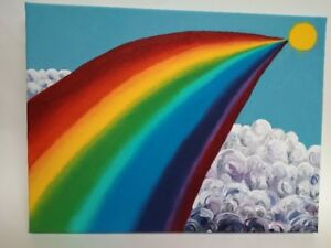 Beautiful Rainbow - Acrylic Painting