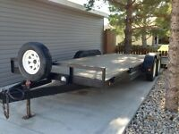 RENTAL 18' CAR HAULER TRAILER FOR RENT, BEST RATES!!