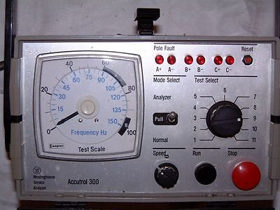 Westinghouse Accutrol 300 Service Analyzer