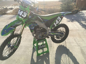 Full kx c4mx race bike