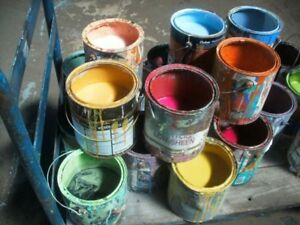 Looking for exterior paint - various colors