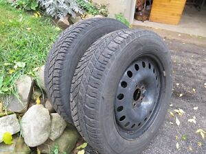 4 GM Winter Tires on Rims - Reduced Cambridge Kitchener Area image 2