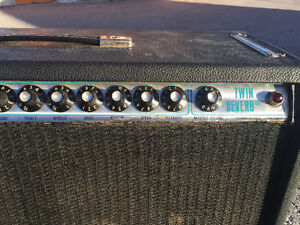 Fender Twin Reverb Silverface Peterborough Peterborough Area image 4