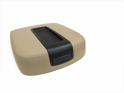 2007 Chevy Suburban Seat Covers - 2007 2008 Chevy Tahoe Suburban Center Console Storage Compartment Lid Cover Tan