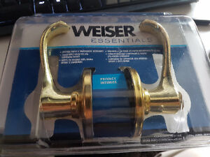 Weiser Privacy Door handles BNWT