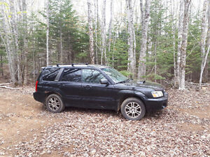 2004 Subaru Forester XT Limited leather Wagon