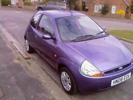 08 ford ka style climate, one owner from new. super low mileage
