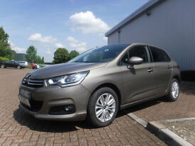 Citroen C4 1.6 Blue HDi 120 EAT6 AUTO Left Hand Drive(LHD)