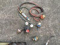 oxy acetylene welding / cutting equipment. Not mig welder tig welder arc welder snap on tools