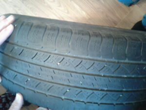 Michelin tires 225 65 17 with rims.