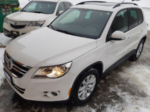 2010 VW Tiguan  , 125000km, No accident, Safety and new brakes