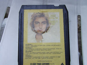 Barry Manilow's Greatest Hits on 8 track