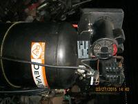 Compresseur Devair  60 Gallons et Plieuse alluminum 10''