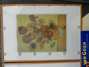 Large Vincent Van Gogh Prints Framed, $90 each. Both for $150. Prince George British Columbia image 2