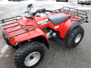1989 HONDA TRX 300 FOURTRAX ATV